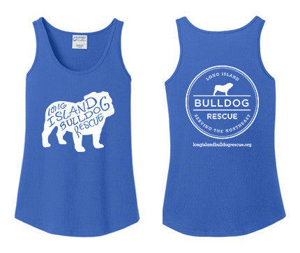 Ladies Tank Top Bulldog Front