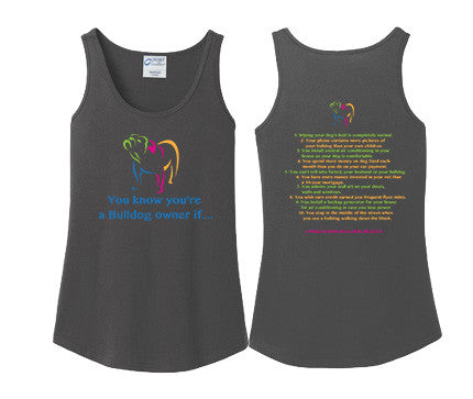 Ladies Tank Top Dog Owner List 1