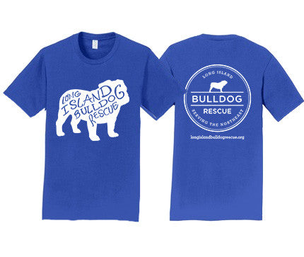 Mens Tee Shirt Bulldog Front