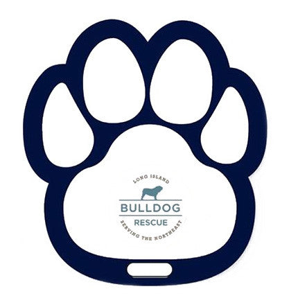 Paw Shaped Luggage Bag Tag