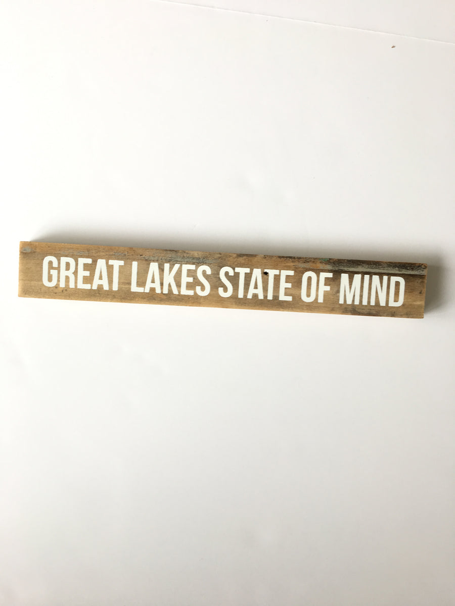 Woodward Throwbacks-Great Lakes State of Mind Shelf Sitter