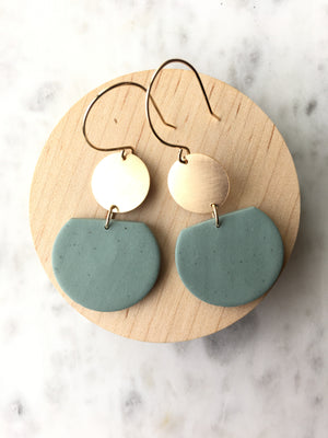 Hazel Clay Dangles