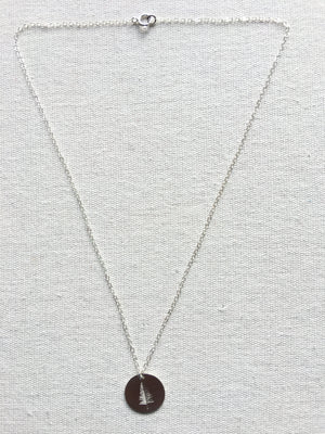 Evergreen Necklace-Sterling Silver