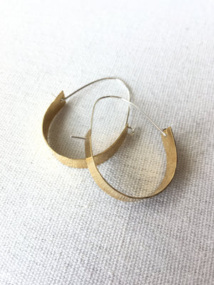 Thin Mixed Metal Hoops