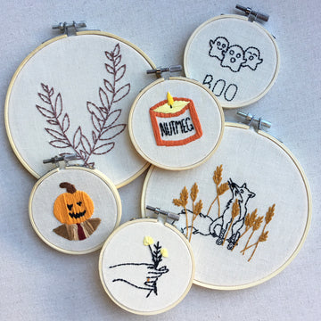 Small Hoop Embroidery Art - Various Styles