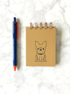 Ruff House Art-Frenchie Mini Jotter