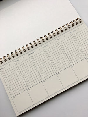 Ruff House Art-To Do Simple Weekly Planner