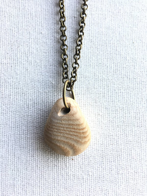 Great Lakes Jewelry Designs-Striped Stone Necklace