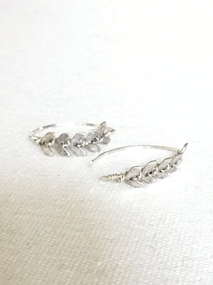 X-Small Soleil Earrings-Sterling Silver