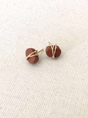 Evie Clay Studs