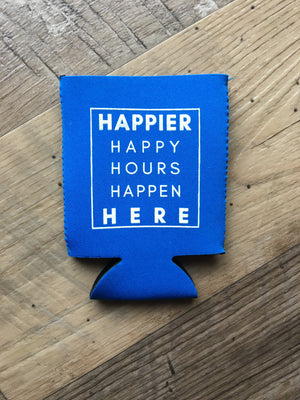 Lake Effect Co-Happier Happy Hours Koozie