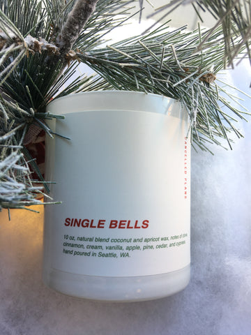 Single Bells Candle