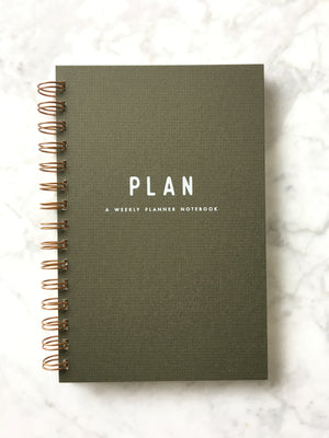 Ruff House Art-Simple Plan Weekly Planner Journal