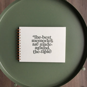 Memories Around the Table Meal Planner