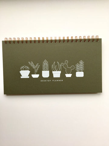 Ruff House Art-Succulent Weekly Planner