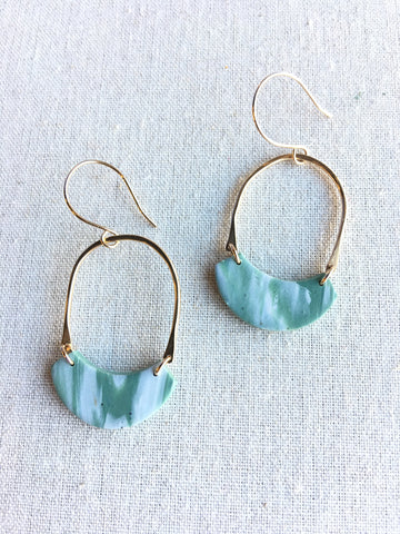 Journey Earrings - Sea Pine