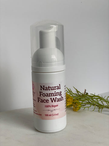 Natural Foaming Face Wash