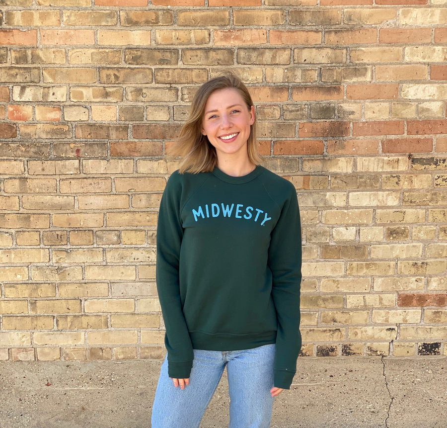 Midwesty Green Sweatshirt