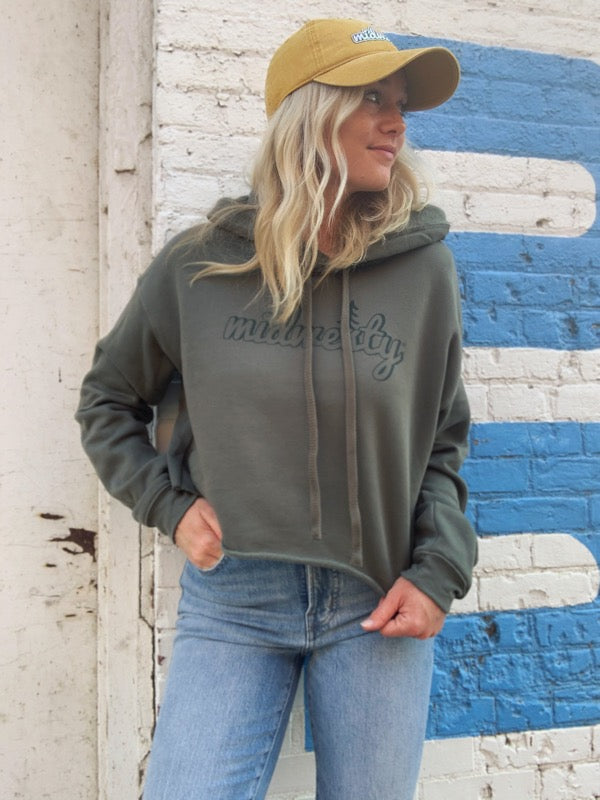 Camp Midwesty Cropped Hoodie