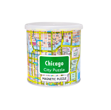 Magnetic Puzzle Chicago- Geo Toys