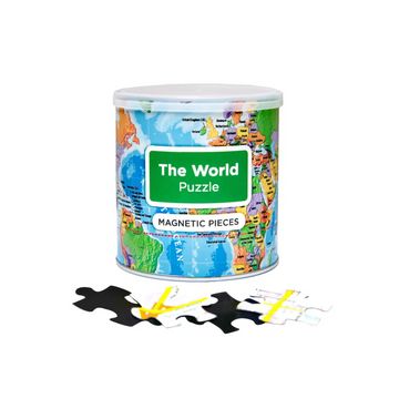 Magnetic Puzzle World- Geo Toys