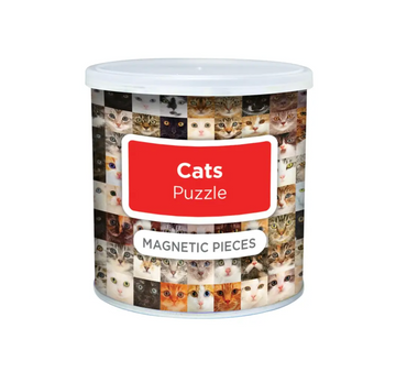 Magnetic Puzzle Cats- Geo Toys