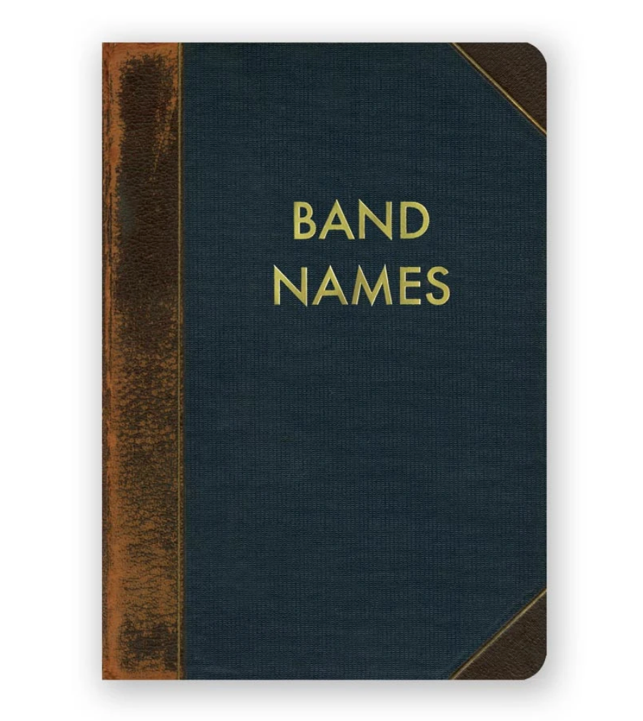 Band Names Journal (Small)