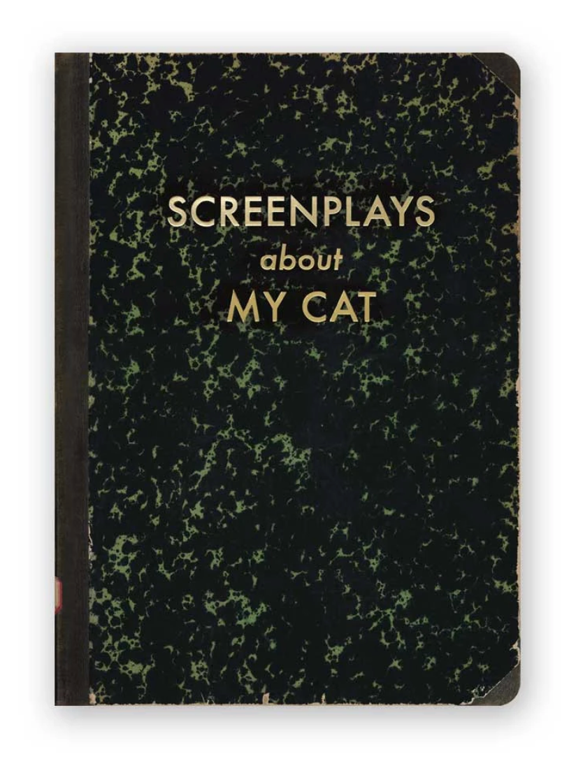 Screenplays About My Cat Journal (Medium)