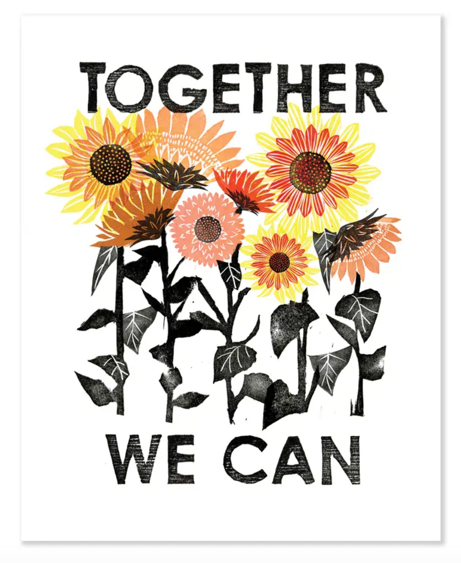 Together We Can 8x10 Print