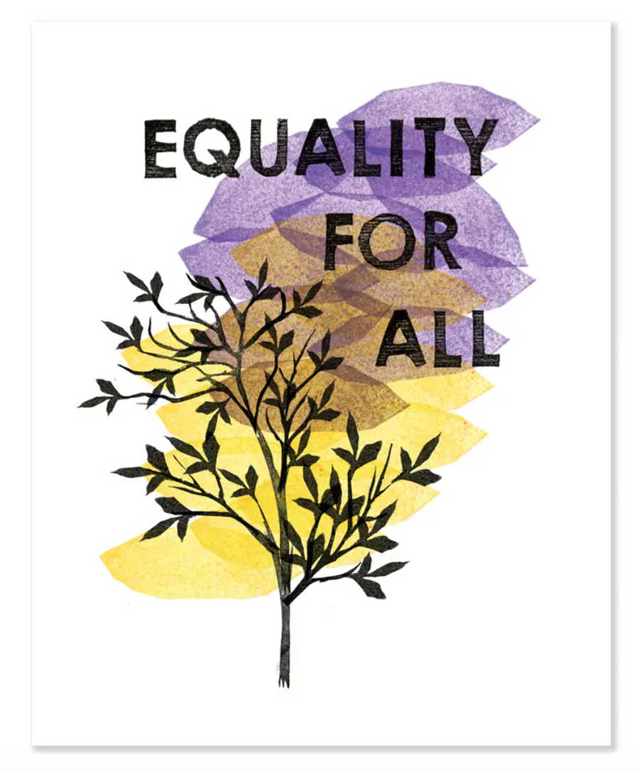 Equality For All 8x10 Print
