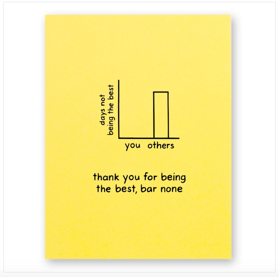 Best Bar None Greeting Card