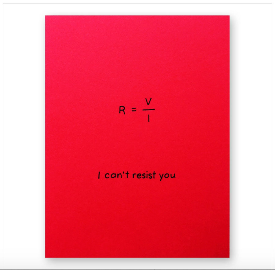 Can't Resist You Greeting Card