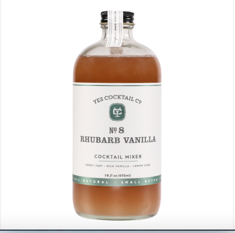 Rhubarb Vanilla Cocktail Mixer -Limited Release-