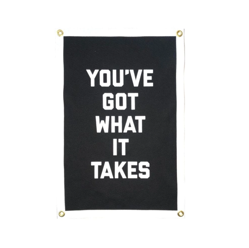 You've Got What It Takes Banner