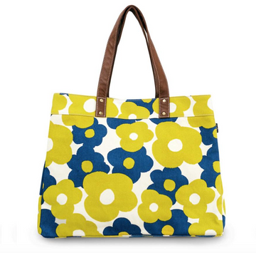 Hana Lane Carryall Canvas Tote