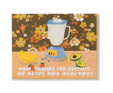 Mom Healthy Smoothie Card