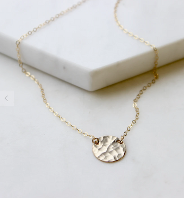 Supermoon Necklace - Gold