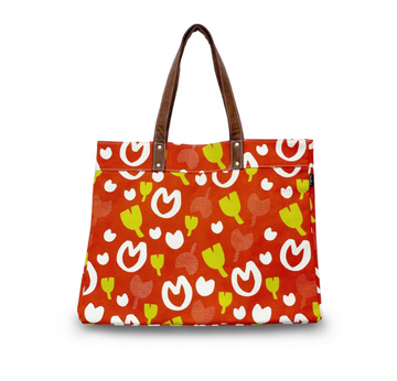Lisse Canvas Carryall Tote Plus
