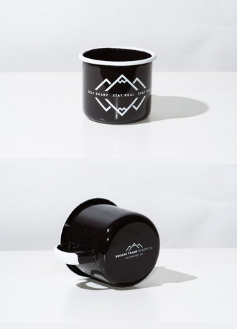 Square Trade Goods-Enamel Mug
