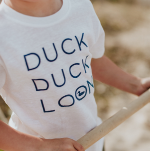 Lake Effect Co.-Duck Duck Loon T shirt-2T