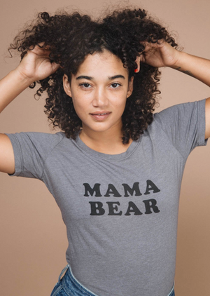 The Bee and The Fox-Mama Bear T-Shirt