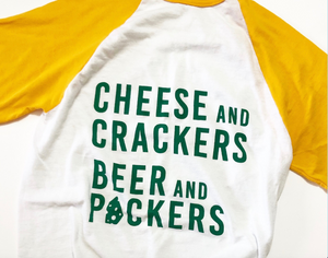 Packers Baseball Tee -Proud Dweller