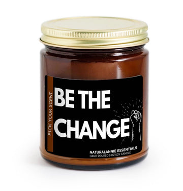 """Be the Change"" Candles by Natural Annie Essentials"
