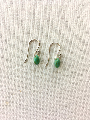 Hygge Jewelry Lab-Simple Pip Earring-Green
