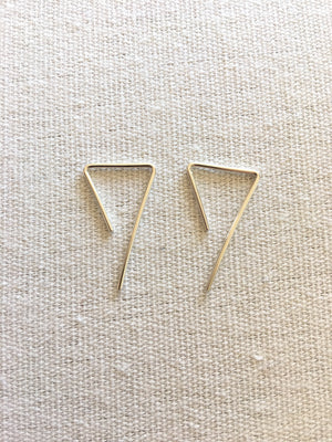 Hello Adorn-Seven Slides Earrings-Sterling Silver