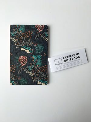 Denik-Midnight Meadow Blank Journal