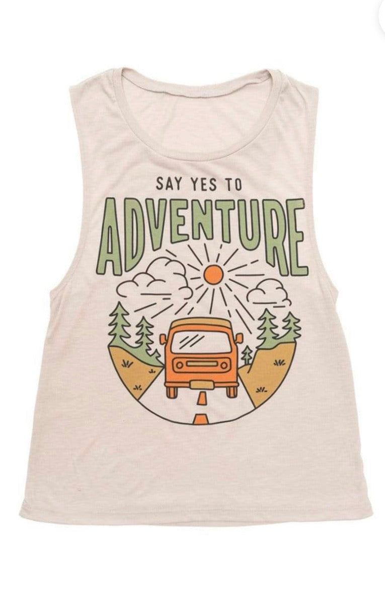 Say Yes to Adventure Tank