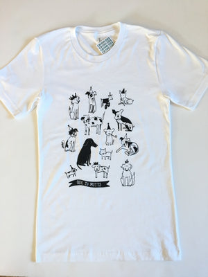 Culture Flock-Ode to Mutts Tee