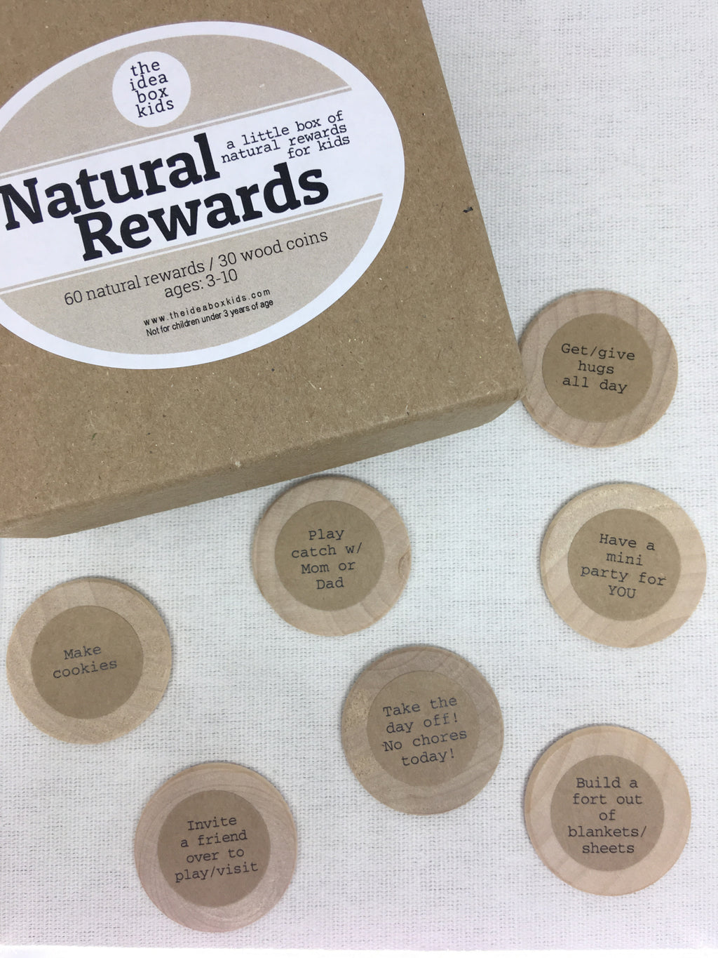 The Idea Box Kids-Natural Rewards Box