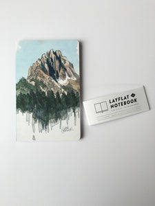 Denik-Drawing Mountains Blank Journal